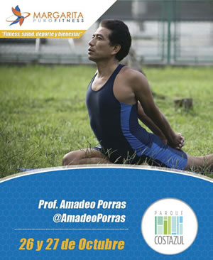 Amadeo estará en Puro Fitness Margarita 2013